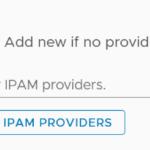 vRA 8: new IPAM provider